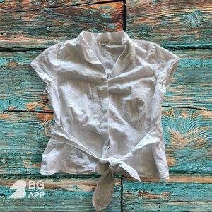 Coldwater Creek Button Down blouse Size XL